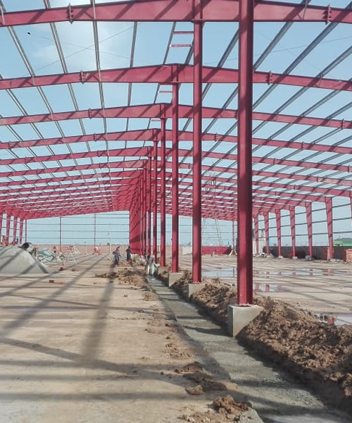 Pre-Engineered Steel Building (Reco)